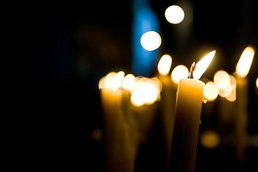 Church, Candle, Religion, Symbol, Fire, Flame, Light