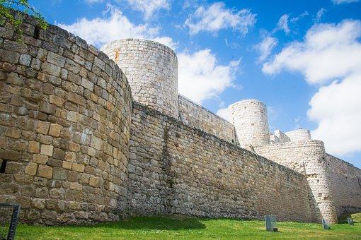 Burgos, Travel, Spain, Castle, Tourism, Stone, Old