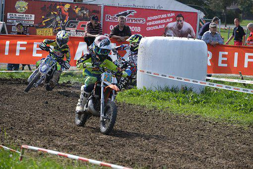 Cross, Motocross, Enduro, Motorcycle, Race, Children