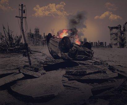 Apocalypse, End Time, War, Destruction, Burn, Fire