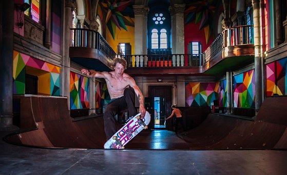 Skate, Skating, Recreational Sports, Drive, Endurance
