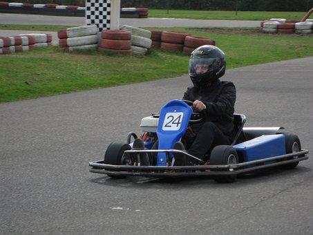Go, Kart, Go Kart, Go-kart, Race Track, Kart Racing