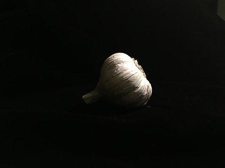Black, Low Key, Garlic, Vegetable, Drop Out Black, Dark