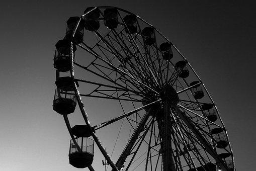 Carousel, Lunapark, Entertainment, Wheel