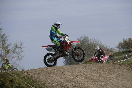 Cross, Motocross, Enduro, Motorcycle, Race