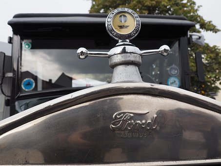 Cool Figure, Ford T, Thin Lizzy, Oldtimer, Old Car