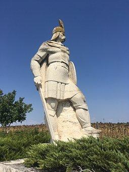 Monument, Communist, Soldier, Partisan, Revolutionist
