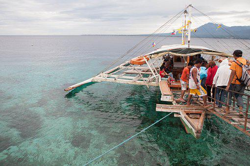 Philippines, Sea Water, Crab Boat