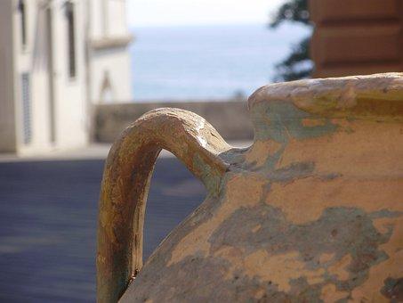 Sea, Macro, Pot