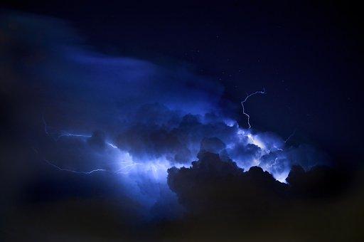Lightning, Weather, Sky, Nature, Thunder, Light, Danger
