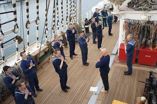Yoga, Sailors, Training Ship, Four Master
