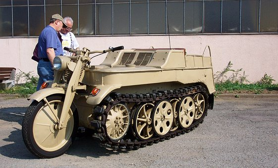 World War 2, Tracked Vehicle, Unique
