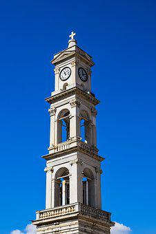 Greece, Volos, Ayios Nikolaos, Cathedral, Belfry