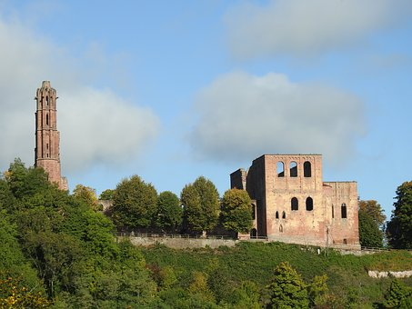 Ruin, Monastery Ruins, Bad Dürkheim, Limburg