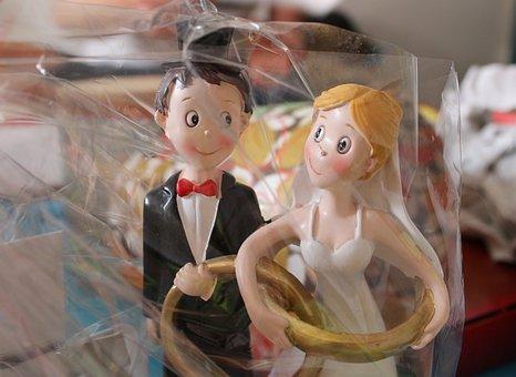 Bride And Groom, Wedding, Gift, Wedding Day, Marry