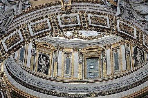 Rome, Vatican, St Peter's Basilica, Italy, Church