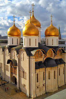 Moscow, Temple, Church, Orthodoxy, Ancient Temple
