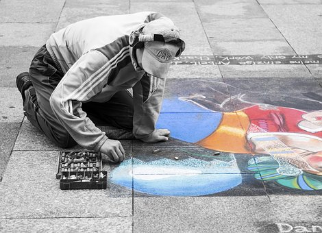 Art, Painting, Painter, Germany, Street, Documentary