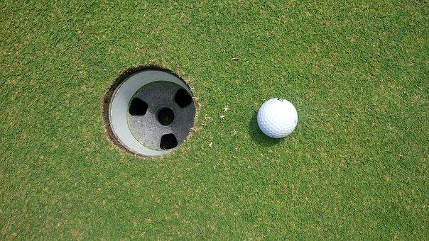 Golf, Golf Ball, Golfing, Green, Golf-ball
