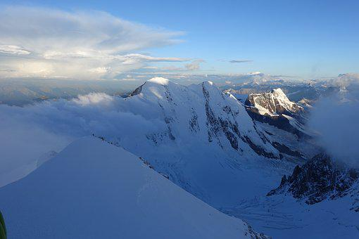 Lyskamm, Valais, High Mountains, Cold, Mountaineering