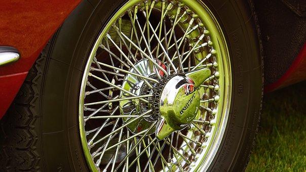 Spokes, Wheel, Tire, Jaguar, Inner Tubes, Tube, Design