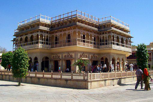 Medieval Building, Amer Palace, Jaipur, Architecture