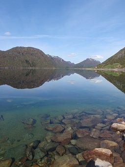Norway, Water, Mountains, Fjord, Nature, Landscape