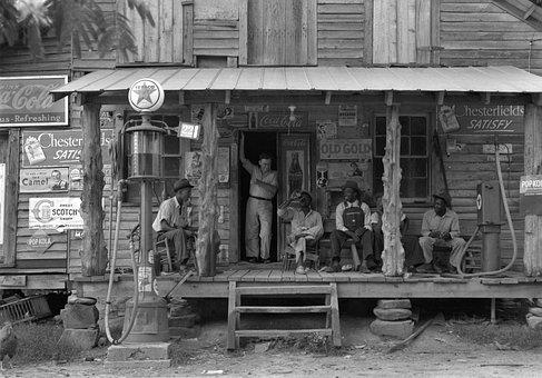 Vintage, North Carolina, Country, Store