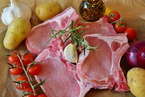 Chops, Pig, Pork Chop, Ribs, Rib, Squares, Chines, Eat