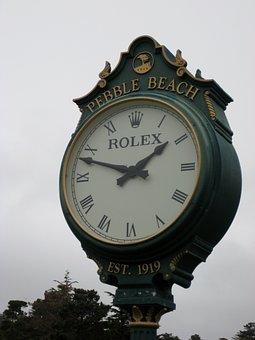 Time, Golf Clock, Hour