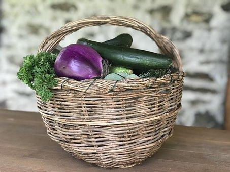 Basketball, Nature, Food, Wood, Flora, Wooden, Wicker