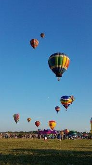 Balloons, Festival, Celebration, Holiday, Festive, Air