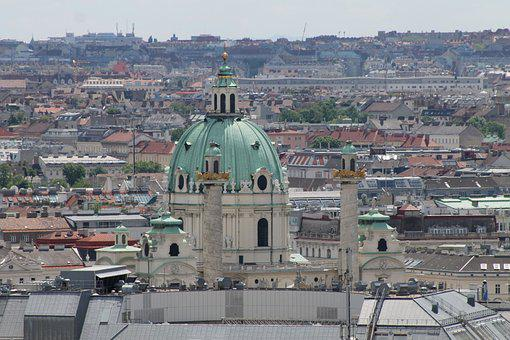St Stephan's Cathedral, Steffl, Church, Vienna, Outlook