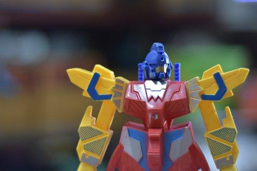 Toys, Robot, Collection, Model, Gundam, Chickasha Pong