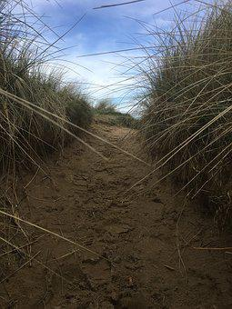 Buncrana, Donegal, Ireland, Five Finger Beach, Away