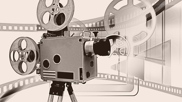 Camera, Film, Demonstration, Projector, Movie Projector