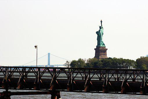 Statue Of Liberty, New York City, Nyc, Freedom