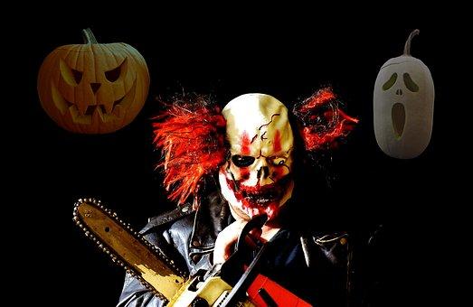 Horror Clown, Halloween, Horror, Creepy, 31 October