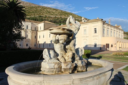 Statue, Fontana, Italy, Statues, Monument, Water