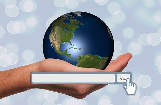 Hand, Keep, Globe, Search Engine Optimization, Seo