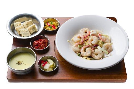 Shrimp, Soup, Meat, Bob, Vegetable