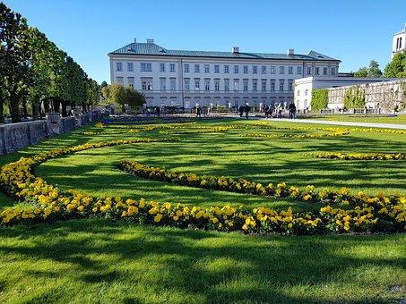 Mirabell, Mirabell Garden, Salzburg, Garden, Palace