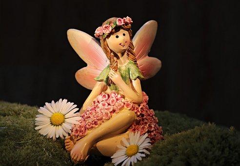 Elf, Mythical Creatures, Forest Elf, Daisy, Mystical