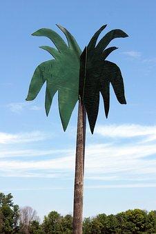 Fake, Palm, Tree