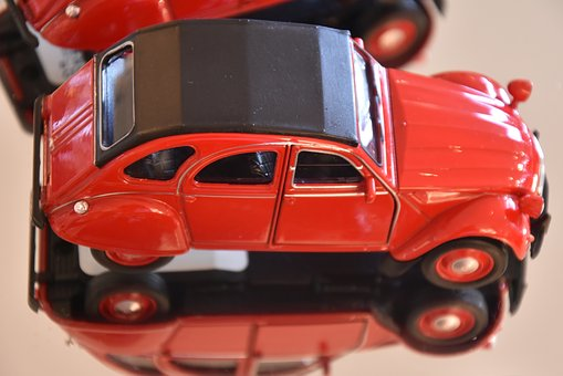 Model Car, Renault, Toys, Model, Auto, Red