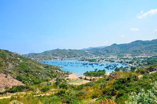 Vinh Hy Bay, Beautiful Bay, The Beach, Ninh Thuan