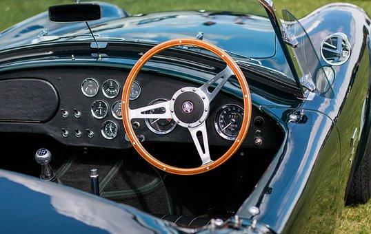 Car, Steering Wheel, Steering, Wheel, Vehicle