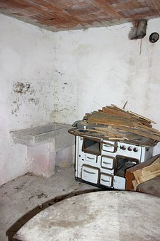 Oven, Stove, Old Furnace, Heat, Kitchen, Antique, Old