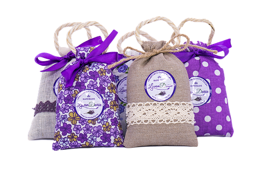 Lavender, Bags, Hand Made, Mov, Popcorn