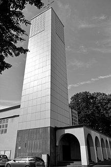 Bauhaus, Church, Architecture, Places Of Interest